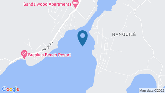 Erakor Island Resort & Spa Map