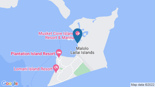 Musket Cove Island Resort & Marina Map