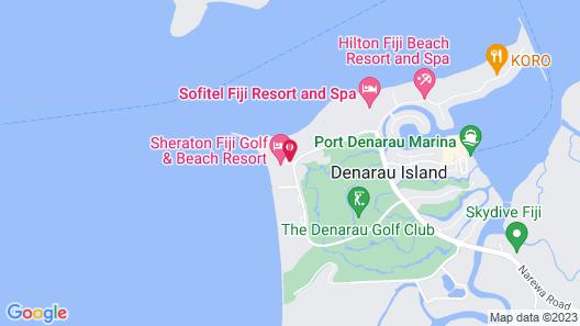 Sheraton Fiji Resort Map