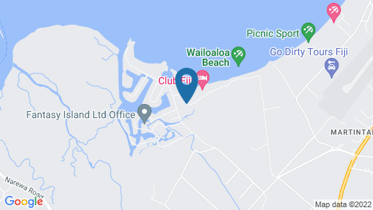Oasis Palms Hotel Map