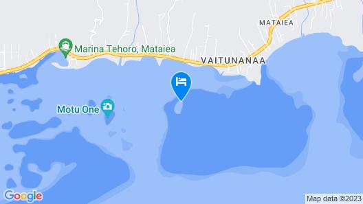 Motu Mapeti - Tahiti Private Island Map