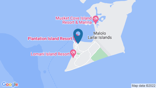 Plantation Island Resort Map