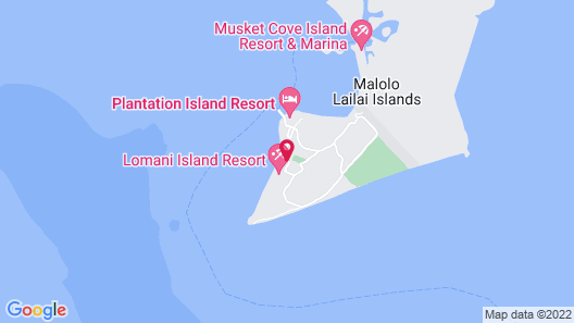Lomani Island Resort - Adults Only Map