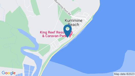 King Reef Resort Map