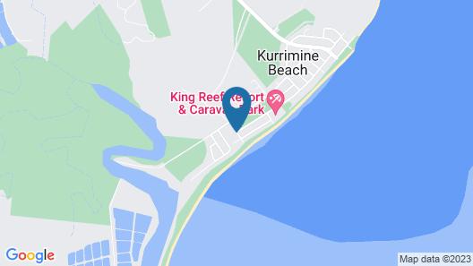 Kurrimine Beach Holiday Park Map