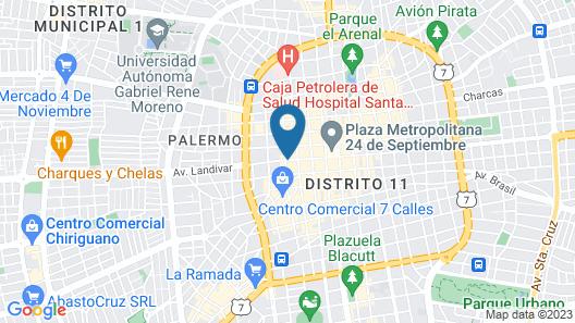 Hotel Canciller Map