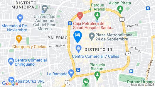 Hostal Ibiza Map