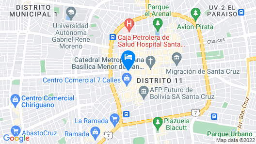 Hotel La Siesta Map