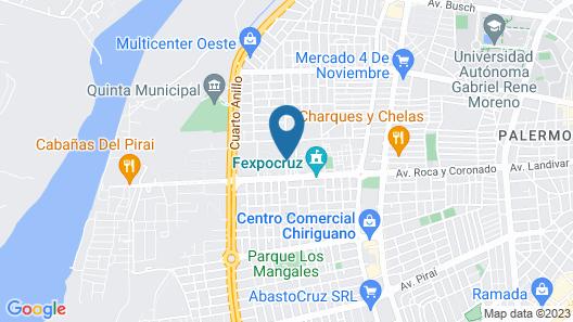Buganvillas Hotel Suites & Spa Map