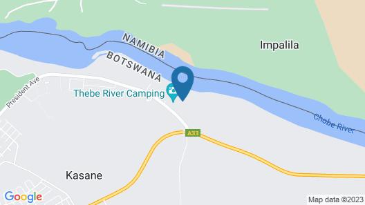 Sandpiper Villas Chobe Map