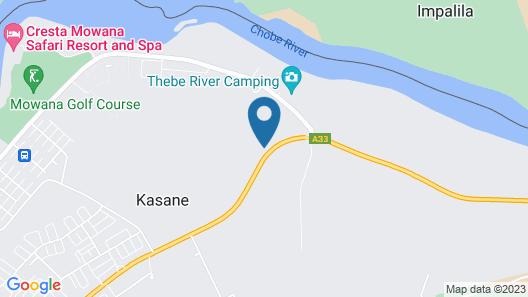 Kwalape Safari Lodge Map