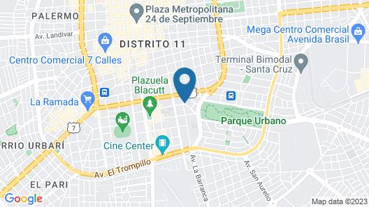 Apartamento Irala Map