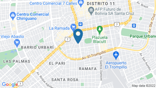 Prince Hotel Map