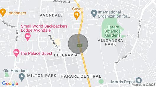 Belgravia Harare Apartment Map