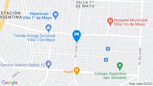 Alojamiento Oasis Map