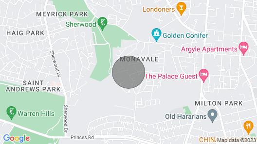 Monavale Hills Getaway Map