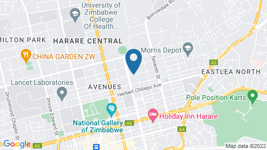Bronte Hotel Map