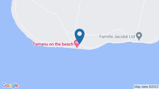 Tamanu on the Beach Map