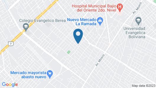 Hotel Spa Santa Maria la Antigua Map