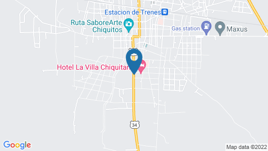 El Suto Aparthotel Map
