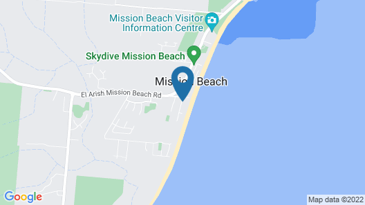 Castaways Resort & Spa Mission Beach Map