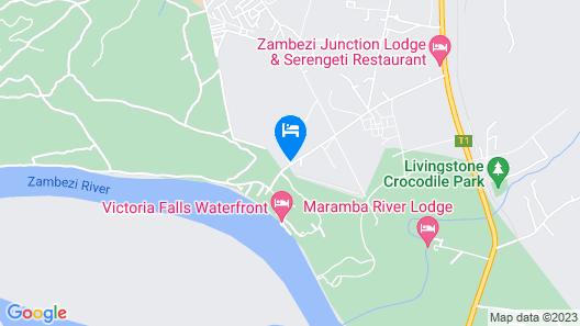 Chrismar Hotel Livingstone Map