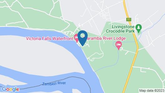 aha The David Livingstone Safari Lodge & Spa Map