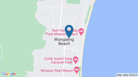 Mission Beach Resort Map