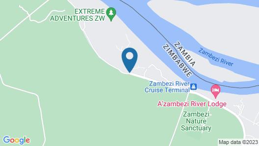 Zambezi National Park Chalets Map