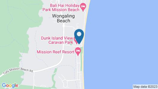 Dunk Island View Caravan Park Map