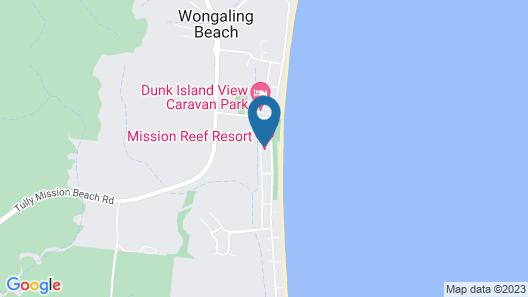 Mission Reef Resort Map