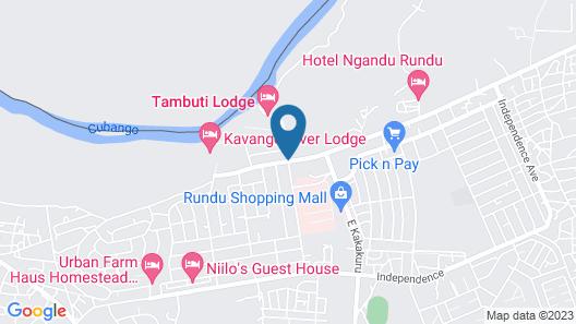Hakusembe River Lodge Map