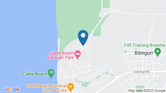 The Pearle of Cable Beach Map