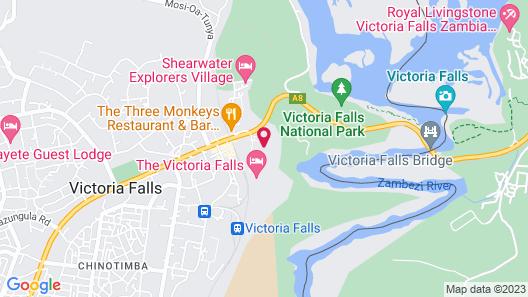 The Kingdom at Victoria Falls Map