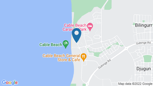 Cable Beach Club Resort & Spa Map