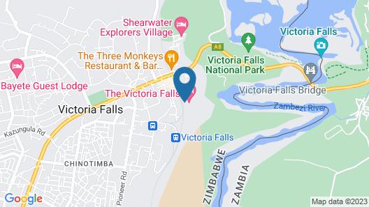 The Victoria Falls Hotel Map