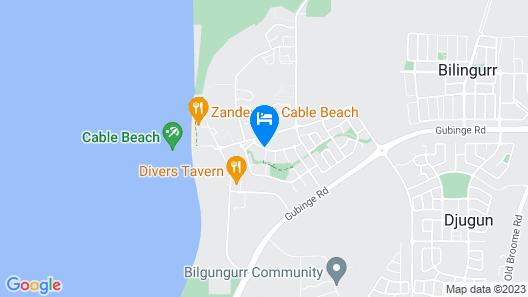 Seashells Broome Map