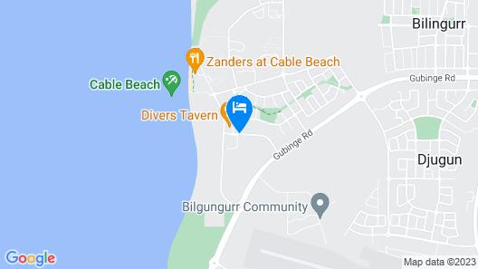Broome Beach Resort Map