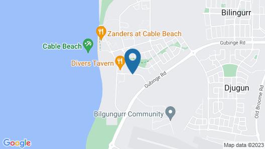 Kimberley Sands Resort Map