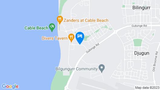 Bali Hai Resort & Spa Map