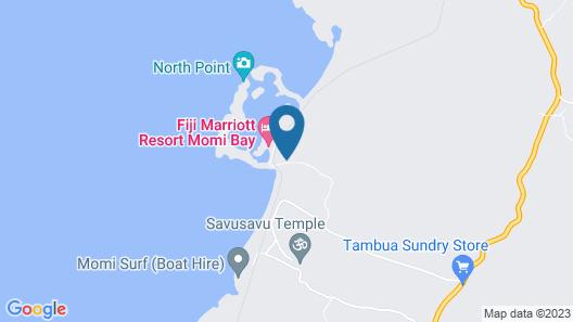 Fiji Marriott Resort Momi Bay Map