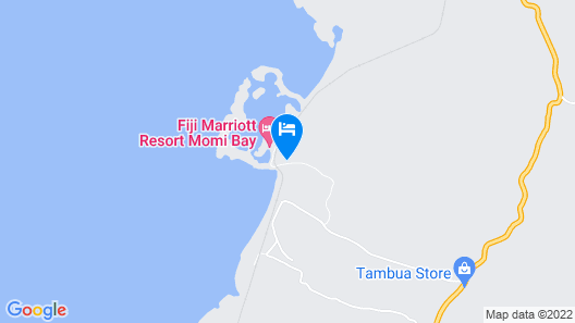 Fiji Marriott Resort Momi Bay Map