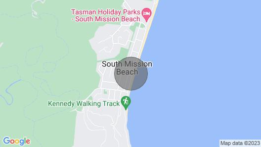 Ohana Beachfront Holiday Home Map