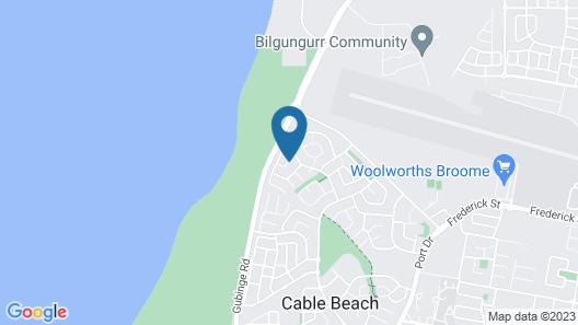 Beach House on Fox Map