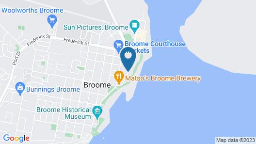 Mangrove Hotel Map