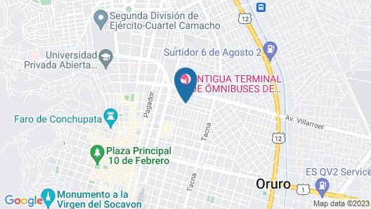 Hotel Oporto Map