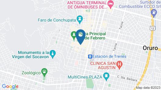 Hotel Houston Map