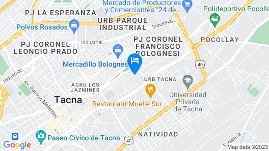 Residencial Valdivia Map