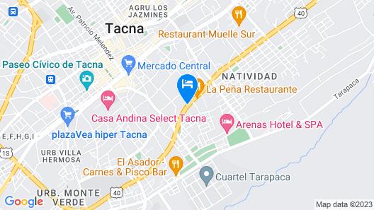 Park Inn By Radisson Tacna Map