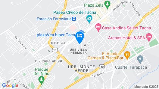Gold Tacna Map